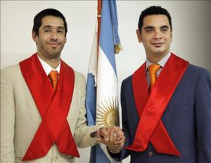First Legally Married Gay Couple in Argentina